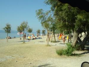 Camping Galeb strand og lekplats