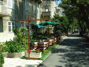 Korcula restaurant gaden