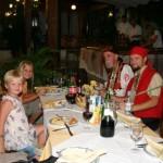 Middag med Piraterna